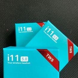 Original i11 TWS Écouteur Casque Bluetooth Sans fil Casque Biaural Call V5.0 Support Touch Funtion Avec la boîte de charge ? partir de fabricateur