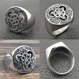Jóia de moda victoriana on-line-5 pçs / lote odin amuleto aço inoxidável 316l moda estilo anel de prata antigo escandinavo nórdico vitoriano retro dos homens de jóias