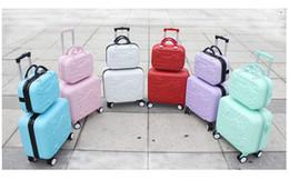 2019 bloqueo de equipaje de dibujos animados ! mayor de las muchachas linda 14 16 abs hola juegos de equipaje de viaje gatito, de alta calidad maleta femenina preciosa equipaje de viaje sobre ruedas