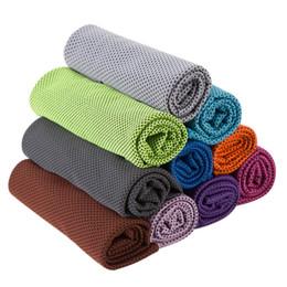 Pva sportello asciugamano online-Asciugamano rinfrescante Esercizio Sudore Sport estivi Asciugamano freddo in ghiaccio PVA Sport dell'ipotermia Portamonete fresco con l'avanzato Hyper-assorbente HA322
