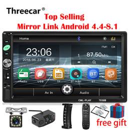 2din Rádio Do Carro 7 polegada Touch mirrorlink Android Player subwoofer MP5 Player Autoradio Bluetooth Retrovisor Câmera Câmera gravador de carro dvd de