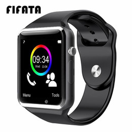 2019 piume tinti d'oca Fifata Bluetooth A1 Smart Watch Sports Tracker Uomo Donna Smartwatch Ip67 Orologi A1 impermeabili per Android Ios Pk P68 Iw8 Iw9 SH190726