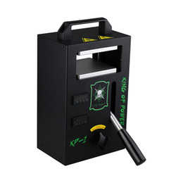 4tons Calor Imprensa Dab Melhor Máquina de Imprensa de Rosin Manual LTQ Vapor KP-1 Imprensa Do Calor Portátil DIY Vape Oil Wax Ferramenta de Extração de DHL livre de