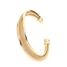 braccialetto d'ottone africano Sconti Braccialetto etiope d'oro 24K per le donne Ragazze Uomo Bangle d'ottone nuziale d'argento USA di Dubai
