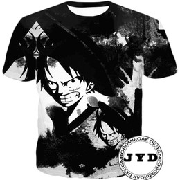 забавные подарки для друзей Скидка Футболка Luffy 3D Print Shirts Забавная футболка Аниме футболка Мужская одежда Пара Тройники Летние топы Подарки для друзей семьи S-5XL 12 стилей