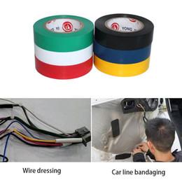 15 Metre Araba Tamir Bantları Araba Tamir Konnektörü Için Tel PVC Elektrik Alev Geciktirici Yalıtım Yapışkan Bant Isıya Dayanıklı supplier resistant tape heat nereden dayanıklı bant ısı tedarikçiler