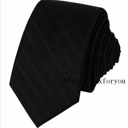 schwarze krawatte orange streifen Rabatt Klassische zufällige Krawatte Accessoires aus Wolle bindet Männer formelle Kleidung Business-Mode britische schmale schwarze Flut Krawatte 5cm Winter Party Accessori