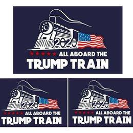 2020 trump araba sticker Donald Trump lokomotif çıkartmalar Tren pencere Sticker Ev Oturma Odası Dekor Duvar Çıkartmaları K316 nereden büyük hayvan duvar çıkartmaları tedarikçiler