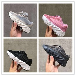 7f522f080 2019 Breathable 700 V2 Runner Leather and Mesh Kids Outdoors Sneakers Runner  700 V2 Tech Bubble Cushioning Kids Athletic Shoes