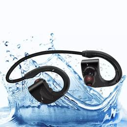 водонепроницаемые наушники bluetooth Скидка Моющиеся 2019 bluetooth 4.2 беспроводные стерео наушники IPX7 водонепроницаемый наушники Наушники для плавания с высоким качеством