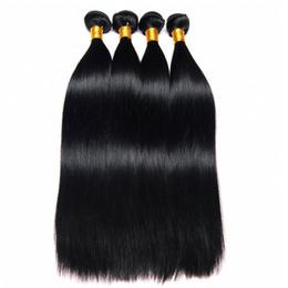 haarwebart kaufen Rabatt Leila 10A Peruanische Gerade haarverlängerungen Bundles 100% Menschenhaar Bundles Nicht Remy Haarwebart Extensions Natürliche Farbe Kann Kaufen 1/4 stücke