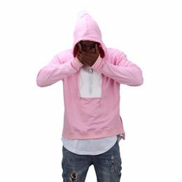 2019 fiore m Felpa con cappuccio Felpa allentata per uomo Tide uomo e donna Limited Cherry Blossom Pink Marshmallow Series EU Street fiore m economici