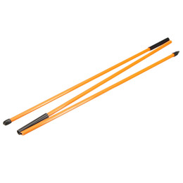 lila golfclubs Rabatt 2pcs Golf Alignment Sticks Fiberglas Trainingshilfe Stangen für die richtige Ballrichtung