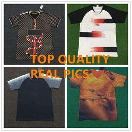 Futebol pop on-line-Camisas de futebol de clube pop pop camisas elegantes homens homem fãs versão kit de time de futebol de futebol uniformes conjuntos de esporte de alta qualidade