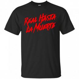 Réel Hasta La Muerte T-Shirt Anuel AA Album T-Shirt Adulte Fan Taille Concert S-2XL Personnalité 2018 Marque T Shirt ? partir de fabricateur