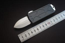 2019 billetera edc Exocet cabo el combate frontal táctico del cuchillo de gama alta calidad CNC de aluminio Stonewash D2 cuchillo de hoja Monedero billetera edc baratos
