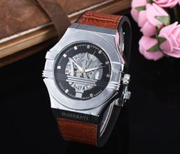 Мужские женские часы онлайн-2019 комплект шнека мода для отдыха новый роскошный спорт maserati часы мужчины женщины мода кварцевые часы