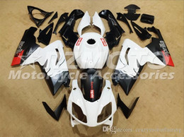 rs4 kit Promo Codes - Injection mold Fairing KIT for Aprilia RS4 125 06 07 08 09 10 11 RS4 RSV 125 2006 2009 2011 White ABS Fairings set+3gifts APP3