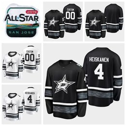 14334c2c6a8 2019 All Star Game 4 Miro Heiskanen Customize Men Women Youth Dallas Stars  Hockey Jerseys Black White Green HOME Away Jersey Stitched