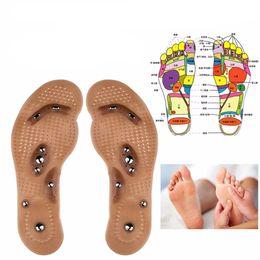 Patches de desintoxicação pé on-line-1 par Corpo Emagrecimento Magnético Terapia do Produto Magnético Massagem Palmilhas Face Care Perda de Peso Das Mulheres Dos Homens Sapato Pads Pé Remendo SH190727