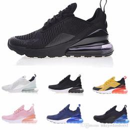 sale retailer 79bca 5b26f Haute qualité 2018 Casual Chaussures 270 Noir Blanc Rouge Jaune Vert 27C  Coussin Hommes Femmes Sports Baskets De Course Eur 36-45 Livraison  gratuiteHaute qu
