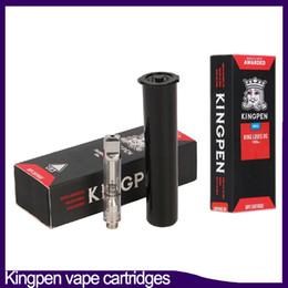 2019 ego c herbe 12 saveur pour option nouvelles cartouches Kingpen Vape Pyrex Glass Vape pen 0.5 1.0ml en céramique Bobine 0266224-1