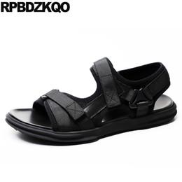 schwarze sport-sandale Rabatt Sommer Designer Schuhe Männer hohe Qualität atmungsaktive native Gurt lässige Mode Mesh Turnschuhe Sport schwarze Sandalen Strand japanisch