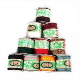 2020 braccialetto in nylon Vendita calda 130m / roll 0,8 millimetri cavo di nylon filo cinese nodo cordone intrecciato DIY della stringa della nappa gioielli ritrovamento sconti braccialetto in nylon