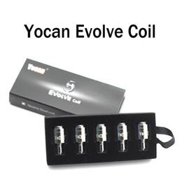 g penna micro erba atomizzatore Sconti Yocan Evolve-D Coil Dry Gerb Vuoto Bobina Una scatola da 5 pezzi 100% originale Noble argento bobina