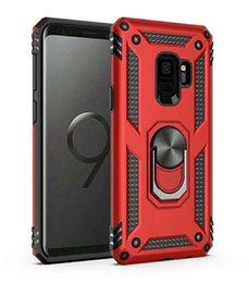 новый телефон в форме яблока Скидка Для Samsung Galaxy S10 S10E S10 PLUS A30 A50 M20 A8s Кольцо держатель подставка чехол броня прочный двойной слой 50 шт. лот