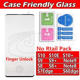 Vente en vrac 3D 5D Case Friendly Protecteur D'écran En Verre Trempé Pour Samsung Galaxy S10 S0E S10Plus Note9 S9 Plus Note8 Note 8 S8 S8Plus ? partir de fabricateur