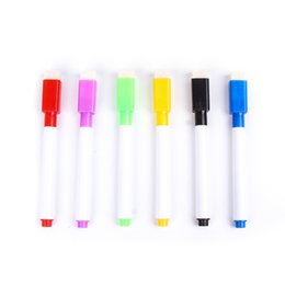 Школьные магниты онлайн-5PCS/Set!!!!!! Convinient  New Magnetic Whiteboard Pen Erasable Dry White Board Markers Magnet Office School Supplies
