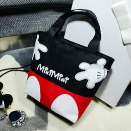 c27288810065 Designer 2019 Women Handbags cartoon Mickey hello kitty canvas girls casual  shoulder bag Women bag KT shopping big bag