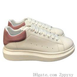 Haute Qualité Hommes Femmes Mode Blanc De Luxe En Cuir Noir Plateforme Chaussures Chaussures Casual Chaussures Lady Noir Rose Or Femmes Baskets Blanches ? partir de fabricateur