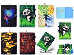 2019 fox skinning Para ipad pro 11 polegadas 2018 tablet bling dos desenhos animados fox panda carteira de couro case stand bolsa de moda árvore de praia de areia elefante pele tampa 1 pcs fox skinning barato