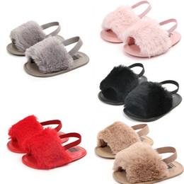 2019 primeras zapatillas Sweet Baby Girls Sandalias de piel para niños Sólido Suave Zapatilla de piel Primer caminante Recién nacido Infantil Niños Zapatos ocasionales 09012009 primeras zapatillas baratos