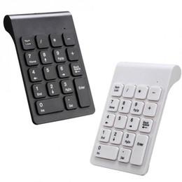 Moda Nuevo Portátil Mini Teclado Digital Inalámbrico 2.4G Teclado USB de Escritorio para PC Portátil Nueva Moda Computadora y oficina desde fabricantes