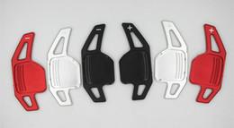 verres ioniques Promotion En alliage d'aluminium Surface givré volant de voiture de remplacement Maj Paddle Shifters Extension pour Audi A3 A4L A5 Q3 Q5 TT S3 A6