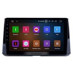 rádio para toyota yaris Desconto 10.1 polegadas Android 9.0 GPS Navi Car Stereo para 2019 Toyota Corolla com WiFi Bluetooth suporte carro dvd OBD2 Volante Controle 3G 1080P