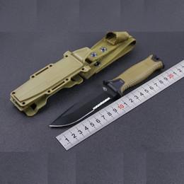 2019 facas solingen Mergulho fixo lâmina de faca com fibra de vidro ABS Bainha Outdoor Deserto Sobrevivência Camping Pesca Tactical Hunting linha reta faca