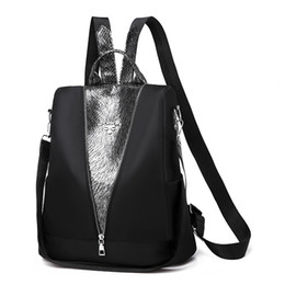 damen rucksack Rabatt Mode-Marken-Frauen beiläufige Rucksäcke Dame-Schulter-Beutel-große Kapazitäts Reisetaschen Schulranzen Studenten Mädchen Oxford Cloth Schoolbag Knapsack