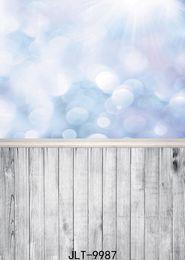 fotografie backdrops bokeh Rabatt Bokeh Tapete Holzbrett Vinyl Porträtfotografie Hintergrund für Kinder Baby Dusche Porträt Hintergrund Foto Studio Photoall