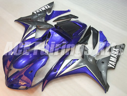black purple motorcycle fairings Coupons - 3 gifts High quality New ABS motorcycle fairings fit for YAMAHA YZF-R1 2002 2003 R1 02 03 YZF1000 fairing kits custom purple black