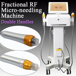 Новый дизайн красоты RF частота Thermage Уход за кожей лица машина Rf microneedle Подтяжки кожи домашнего использования от