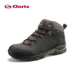 eb14ee17801e1 Clorts Botas de senderismo Botas de escalada al aire libre Caza de gamuza  impermeable Caza antideslizante Zapatillas de deporte de invierno Senderismo  ...