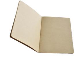 2019 libro vuoto hardcover A5 Blank Pagina interna Block notes Quaderno in vacchetta Quaderno a tinta unita Quaderno classico Quaderno semplice Vendite dirette in fabbrica 1 4jc R