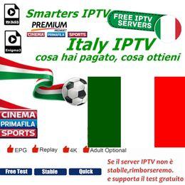 Premium-tv online-Intelligente italienische IPTV-Kanäle unterstützen Android m3u8 enigma2 Mediaset Premium Italy Live-TV wird in italienischer IPTV-Sprache unterstützt