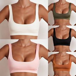 roupas femininas sexy Desconto Sexy Yoga Senhora Sports Bra Mulheres Correndo Jogging Top Girls Vestuário Feminino Plus Size Thin Solid respirável 2017 Nova Marca chothes