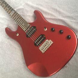 Envío de la alta calidad Musicman JP guitarra eléctrica Flame maple top john Petrucci firma hombre música guitarra eléctrica 15-6-25 desde fabricantes