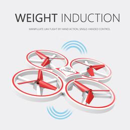 Indução Interativa de Quatro Eixos Aeronaves Inteligente Assista Controle Remoto Gesto de Controle Remoto Aeronave LED de Iluminação Unmanned Brinquedos Aéreos de Fornecedores de óculos de qualidade